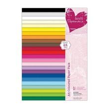 DESIGNER BLÖCKE  / DESIGNER PAPER A4 paper pad, warm colors