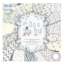 "Paper pad, Baby ""It's a Boy"""