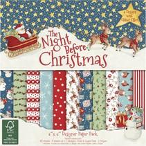 Designer paper block Christmas