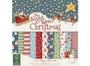 DESIGNER BLÖCKE  / DESIGNER PAPER Designer paper block Christmas