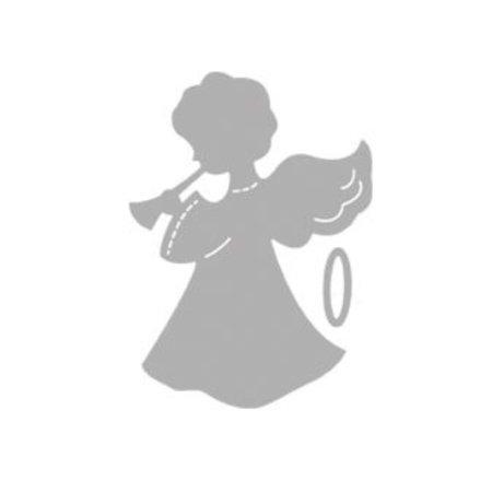 Spellbinders und Rayher Stanz- und Prägeschablonen: Engel