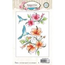 Transparent stamps, Romantic Summer