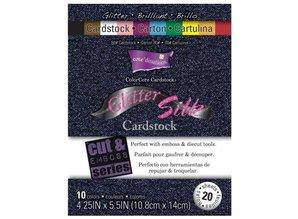 DESIGNER BLÖCKE  / DESIGNER PAPER Designer Block, Glitter Silk cardstock
