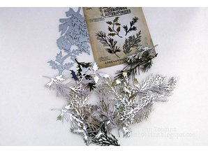 Sizzix Punching and embossing template: many different plants