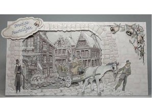 BASTELSETS / CRAFT KITS: Complete Card Set Christmas Times
