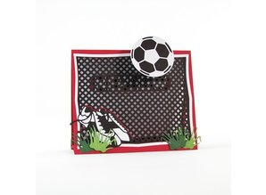 TONIC Punching and embossing template: Soccer