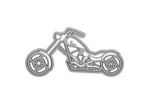 TONIC Stansning og prægning skabelon: Motorcykel