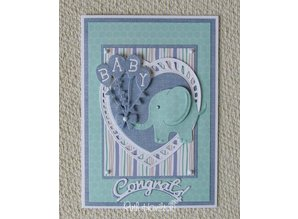 TONIC Punching and embossing template: Themes Baby