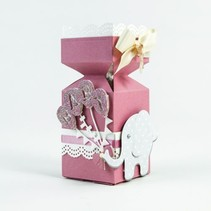 Punching and embossing template: Themes Baby