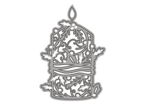 TONIC Skæring og prægning / skabelon: nostalgishe stearinlys