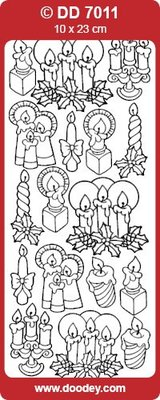 Sticker Adesivi, candele