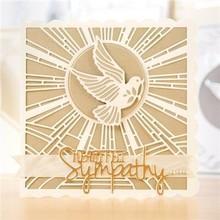 TONIC Corte y grabado en relieve: la paloma