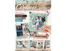 Bücher und CD / Magazines A4 Kartenbuch, Vintage