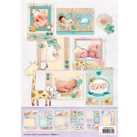 Bücher und CD / Magazines A4 Kartenbuch, Baby Nr.2