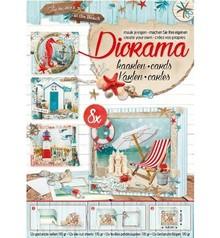 Bücher und CD / Magazines A4 libro de mapas, Verano en la playa nr.02