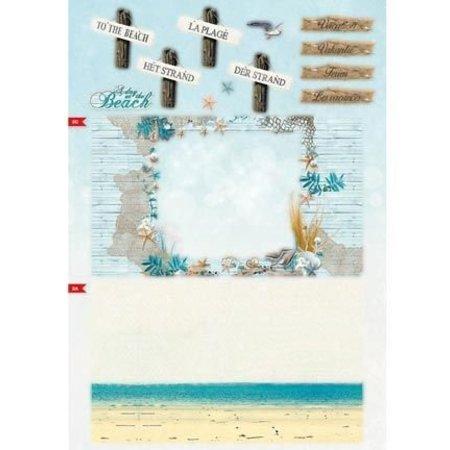 Bücher und CD / Magazines A4 Kartenbuch, Summer At The Beach nr.02