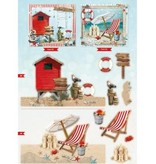 Bücher und CD / Magazines A4 kort bog, Sommer At The Beach nr.02