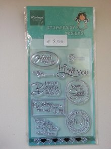 Stempel / Stamp: Transparent Transparent stamps, text requests