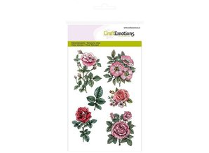Wild Rose Studio`s A6 Transparent stamps, roses