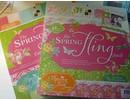 DCWV und Sugar Plum Diseñador de bloque, el Spring Fling