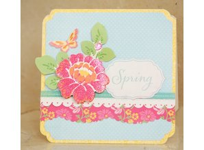 DCWV und Sugar Plum Designer Block, The Spring Fling