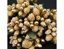 BLUMEN (MINI) UND ACCESOIRES Mini Blumchen, oro, look vintage