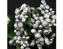 BLUMEN (MINI) UND ACCESOIRES Mini Blumchen, silber, Vintage Look
