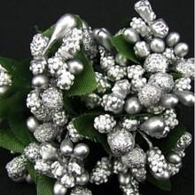 BLUMEN (MINI) UND ACCESOIRES Mini Blumchen, silver, vintage look