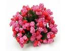 BLUMEN (MINI) UND ACCESOIRES Mini Blumchen, rød, vintage