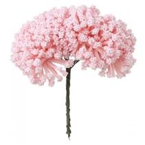 Mini Blumenstrauss, zart rosa, Vintage Look