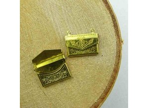 Scrapbooking ... Mini Tasche, Dekoration, 2 Stück
