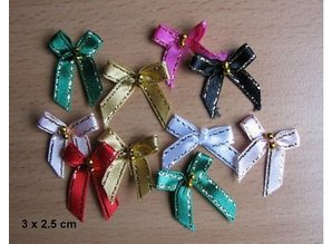 DEKOBAND / RIBBONS / RUBANS ... Mini loops, 5 pieces
