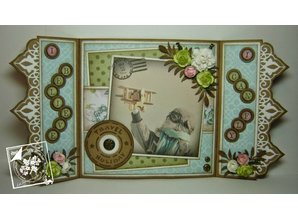 Joy!Crafts und JM Creation Punching and embossing template: Borders