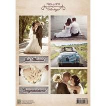 A4 broadsheet, wedding