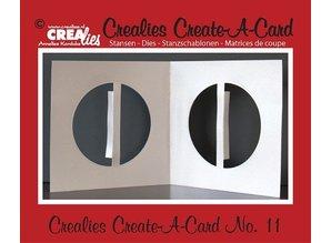 Crealies und CraftEmotions Punzonatura e goffratura modello: Kartengestaltung