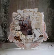 Precious Marieke Stansning og prægning skabelon: dekorativ ramme