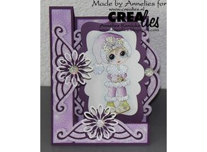 Crealies und CraftEmotions Metal cutting dies, for Pop-Up Cards!