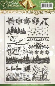 Stempel / Stamp: Transparent timbri trasparenti con 18 disegni!