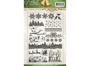 Stempel / Stamp: Transparent Transparent stamps with 18 designs!