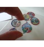 BASTELZUBEHÖR / CRAFT ACCESSORIES Epoxy Sticker, ø 3,0 cm