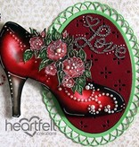 """Heartfelt Creations aus USA neu im Sortiment, """"All Glammed Up Shoe"""""""