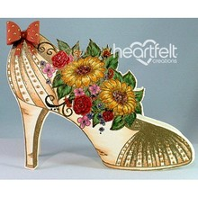 "Heartfelt Creations aus USA ny i området, ""All glammed op Shoe"""