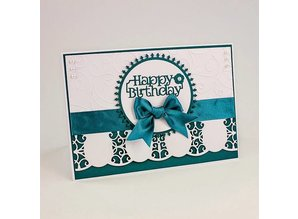 TONIC Cameo Silhouette stamping and embossing stencil of Tonic!