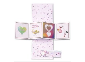 BASTELSETS / CRAFT KITS: Notecards Set fødsel