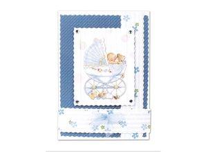 BASTELSETS / CRAFT KITS: Notecards Set birth