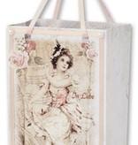 BASTELSETS / CRAFT KITS: Bastelheft für 12 Geschenktüten, Vintage & Nostalgie