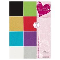 A4-papir pad Glitter