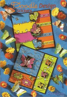 Bücher und CD / Magazines Cuaderno A5: Diseño del Doodle Pegatinas