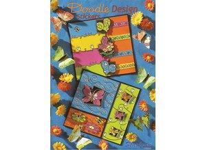 Bücher und CD / Magazines A5 cartella di lavoro: disegno di Doodle Adesivi