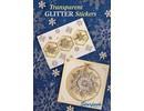 Bücher und CD / Magazines A5 cartella di lavoro: adesivi trasparenti Glitter